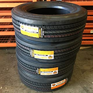 Set of 4 (FOUR) Cosmo CT588 Plus All-Season Commercial Radial Tires-245/70R19.5 135/133L LRH 16-Ply
