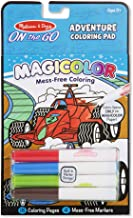 Melissa & Doug On the Go Magicolor Coloring Pad: Adventure - 18 Coloring Pages and 4 Markers