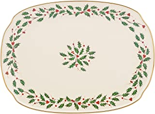 "Lenox Holiday 15"" Oblong Serving Platter"