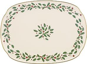 "Lenox 830143 Holiday 15"" Oblong Serving Platter"