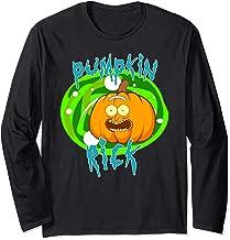 Pumpkin Rick Halloween Costume Long Sleeve T-Shirt