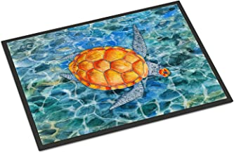 Caroline's Treasures Sea Turtle Doormat, BB5364JMAT, Multicolor, 24 H x 36 W