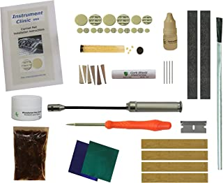 Instrument Clinic Clarinet Pad / Tenon Cork Kit, Universal Set