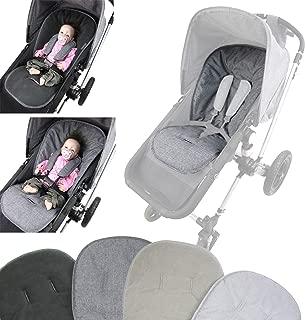 Abnehmbarer Reißverschluss Kinderwagen Armlehne Box Cover Kinderwagen PU Leder
