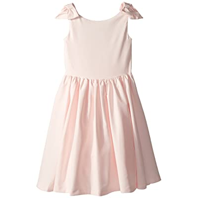 Janie and Jack Special Occasion Bow Sleeve Dress (Toddler/Little Kids/Big Kids) (Blush Pink) Girl