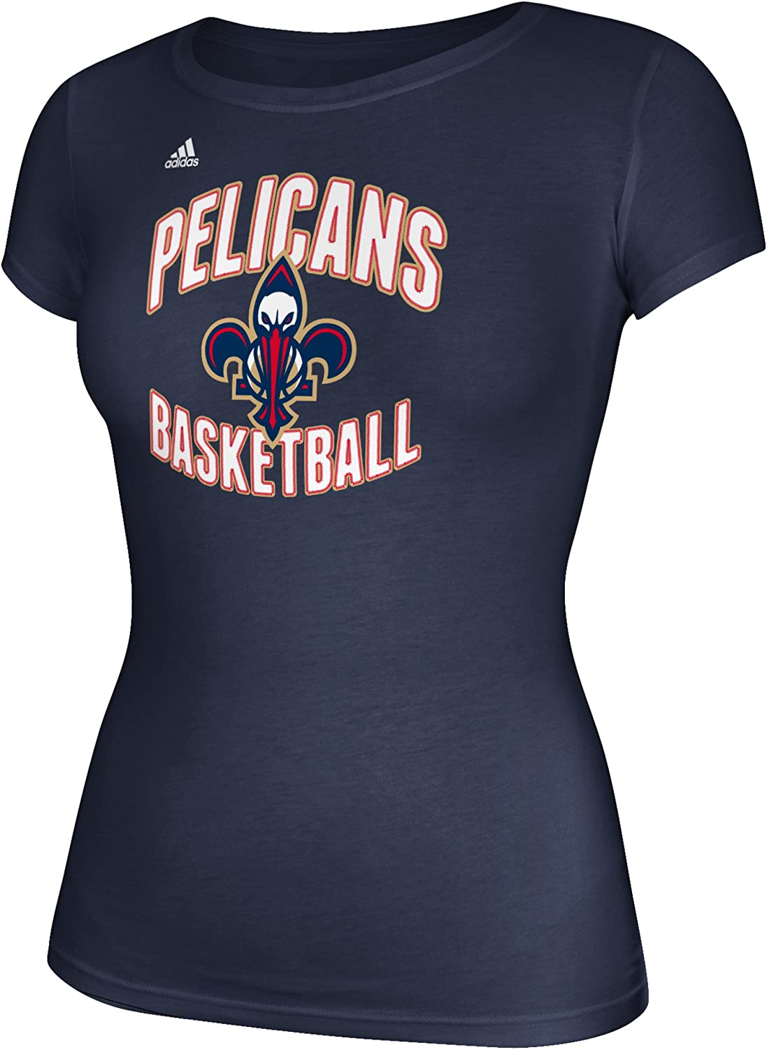 NBA Womens Basketball Graphic Cap Sleeve Tee