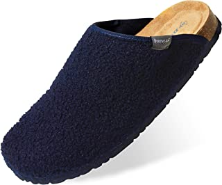 Dunlop House Slippers for Men, Memory Foam Slipper for Mens, Comfy and Warm Indoor Shoes, Size 7-12, Fluffy Novelty Gifts ...