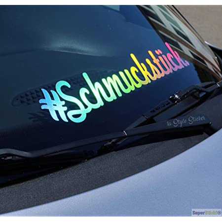 Supersticki Schmuckstück Oil Slick Folie Hologramm Auto Tuning Aufkleber Ca 30cm Autoaufkleber Auto