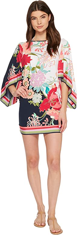 Trina Turk - Royal Botanical Tunic Cover-Up