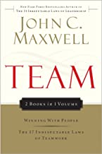 Team Maxwell 2in1 (Winning With People/17 Indisputable Laws)