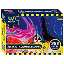 Webby Abstract Colourful Blending Jigsaw Puzzle, 252 Pieces