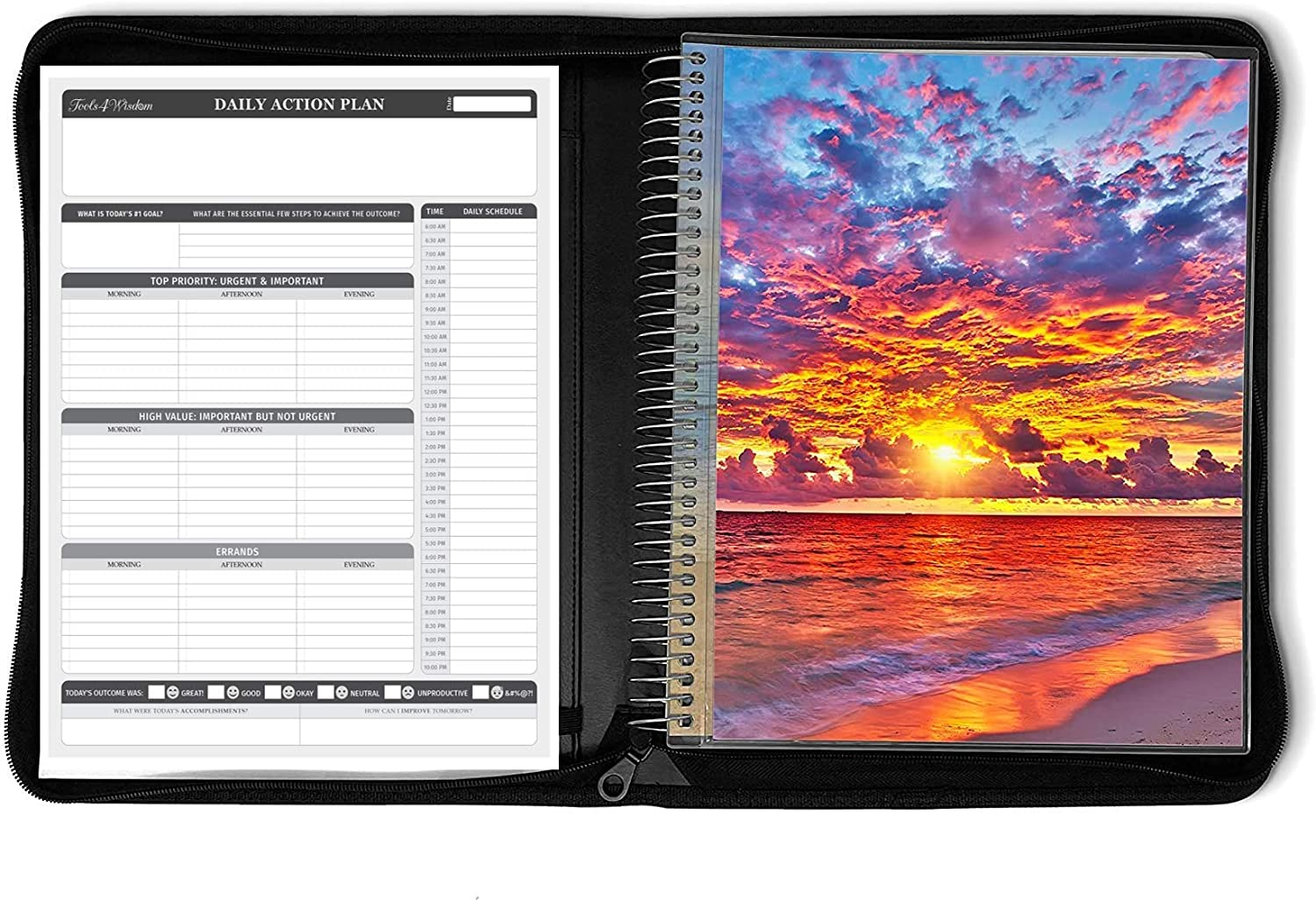 Complete Free Shipping 3 in 1 Bundle - Las Vegas Mall Daily Planning Pad April Leather Faux Folio •
