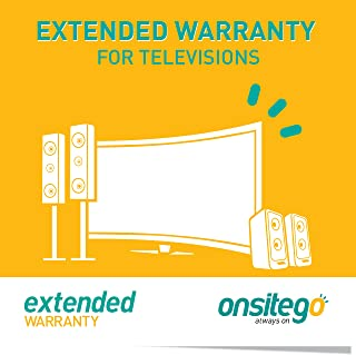 OnsiteGo 2 Year Extended Warranty for TVs from Rs. 1 to Rs. 18000