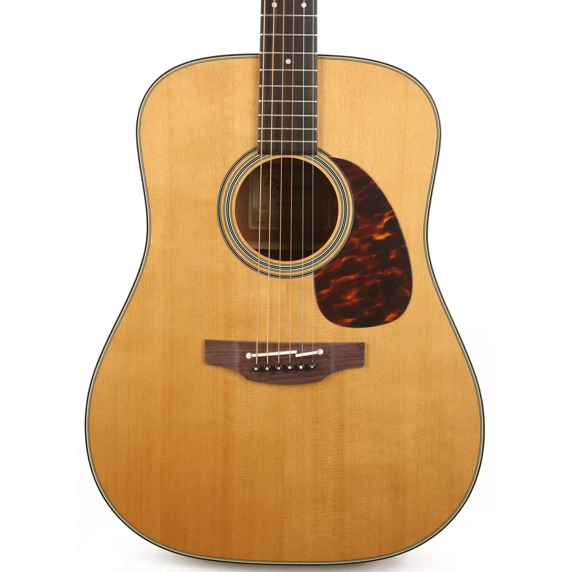 Takamine EF340S TT - Guitarra acústica eléctrica con funda rígida: Amazon.es: Instrumentos musicales