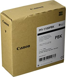 CANON PFI-1100 Ink Photo Black Standard Capacity 160 ml Pack of 1 iPF Pro2000/4000S/6000S