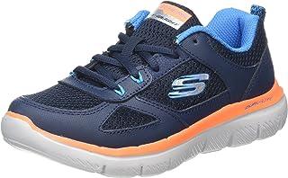 (13 UK, Blue (Navy/Blue)) - Skechers Boys' Flex Advantage 2.0 Trainers