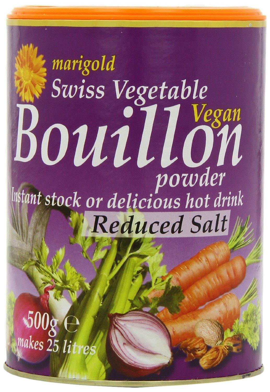 Marigold Swiss Vegetable Bouillon Reduced Salt Family 500g - Pac
