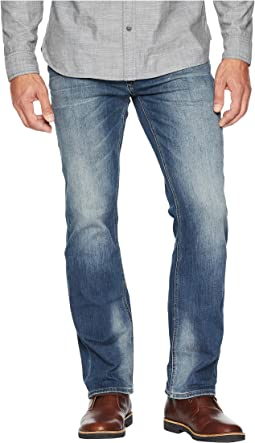 Six-X Slim Straight Jeans in Crinkled & Sanded