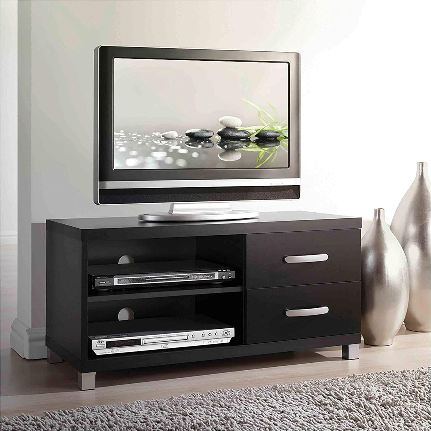 Techni Mobili Modern TV Stand with Over item handling ☆ Storage 40