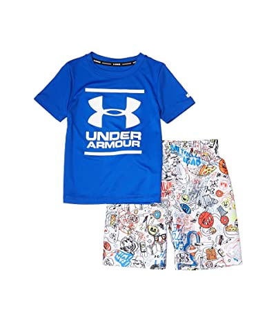 Under Armour Kids Scribble Volley Set (Little Kids/Big Kids) (Versa Blue) Boy