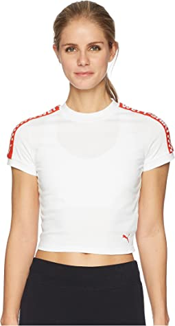 PUMA - Puma x Fenty by Rihanna Short Sleeve Cropped Tee