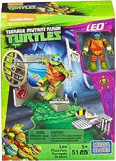 Mega Bloks Teenage Mutant Ninja Turtles Leo Pizza Fury Playset