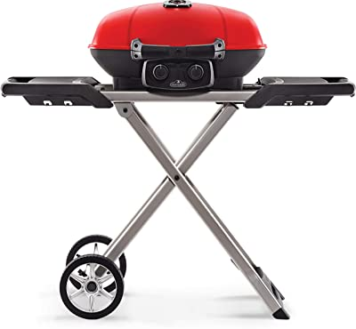 Napoleon TQ285X-RD-1-A TravelQ 285X Portable Gas Grill, Red