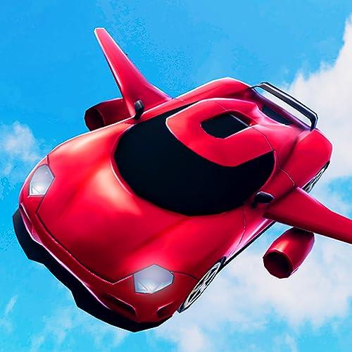 Extremes Fliegen-Auto-Flugpilot-Simulator 3D: Futuristisches Laufen, das klassisches Abenteuer-freies Spiel für Kinder 2018 fährt