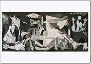 Young N Refined Guernica Print of Painting Famouse Artwork by Pablo Picasso Powerfull Anti war fine Art Decoration Cubism surrealism 16x20
