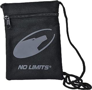 No Limits Sottogiacca Nero, Borsello Mini, con Tracolla 3 Tasche, Mini Marsupio