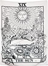 Tarot Tapestry The Moon The Star The Sun Tapestry Mediaeval Europe Divination Tapestry Wall Hanging Tapestries Mysterious ...