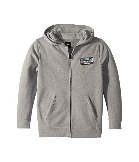 61910e44bc0c98 Vans Kids Racing Zip Fleece (Big Kids) at Zappos.com