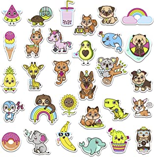 RipDesigns - 30 Kids Stickers for Water Bottles, Laptops (Series 11)