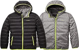 Sponsored Ad - Eddie Bauer Reversible Jacket for Boys and Girls - Down, Waterproof, Hooded
