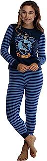 INTIMO, Hogwart de Harry Potter's House Crest ajuste apretado adulto femenino de algodón Pajama Set