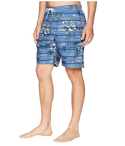Tommy Bahama Baja Satillo Stripe Swim Trunk Ocean Deep 2018 Sale Online Amazing Price xhUOCOBnpb