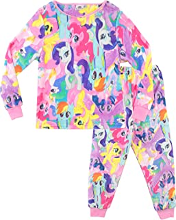 7731bdfddd914 Mon Petit Poney - Ensemble De Pyjamas - My Little Pony- Pyjama Polaire -  Fille