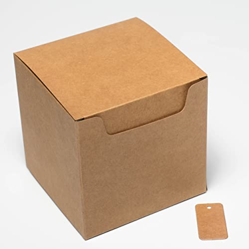 2007706cd5f Pack of 20 KRAFT NATURAL Eco GIFT BOXES