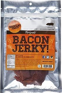 Teriyaki Bacon Jerky