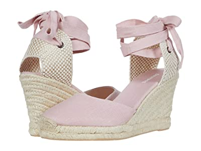 Soludos Tall Wedge Espadrille (Soft Pink) Women