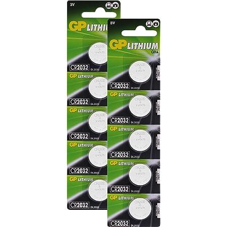 Gp Lithium Knopfzellen Cr2032 3v Knopfbatterien Cr Elektronik