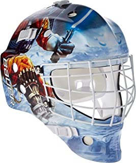 Bauer Start Wars nme Inline Hockey Máscara Casco para Calle Hockey para Adultos, Deportes y Tiempo Libre