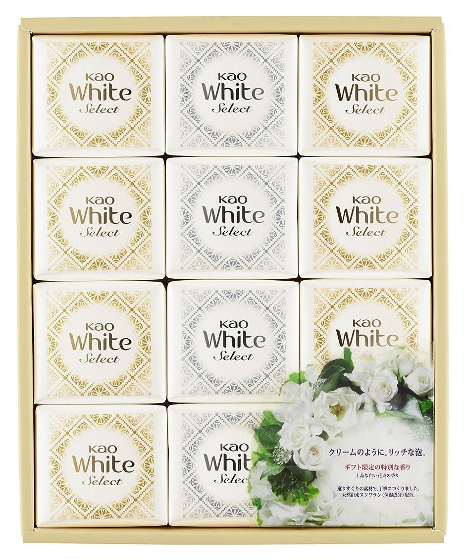 長いです貫通する医学花王ホワイト セレクト 上品な白い花束の香り 85g 12コ K?WS-20