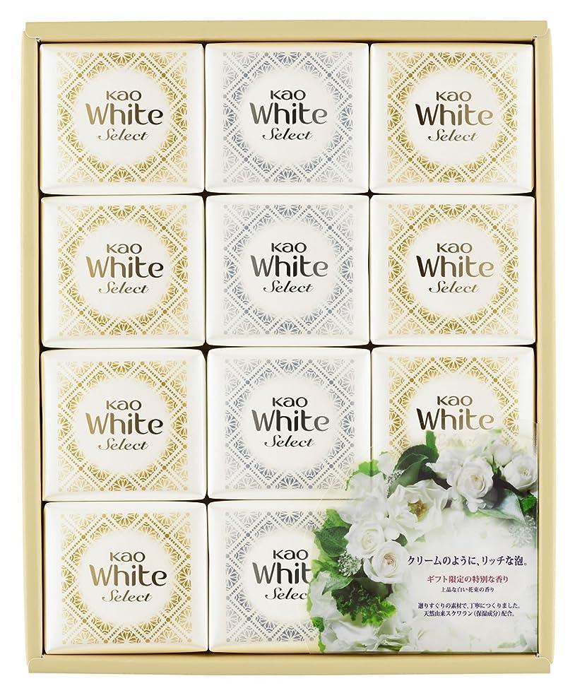 怪しい達成するジャンル花王ホワイト セレクト 上品な白い花束の香り 85g 12コ K?WS-20