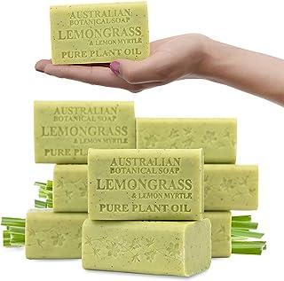 Australian Botanical Soap Lemongrass & Lemon Myrtle 200g x 8 pack