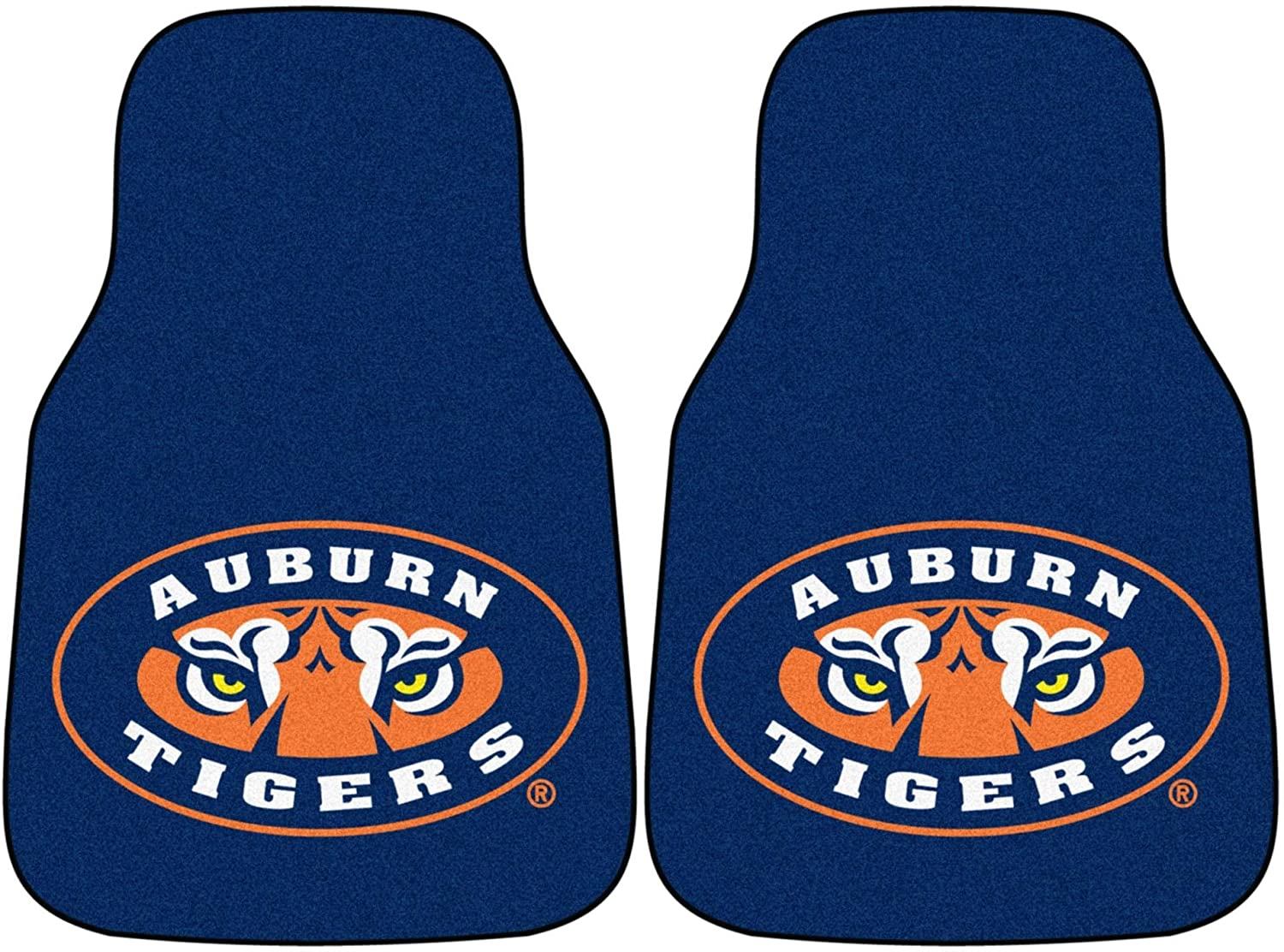 Fanmats Auburn Tigers Universal Fit Carpet 2 Pc Car Floor Mat (Rug)