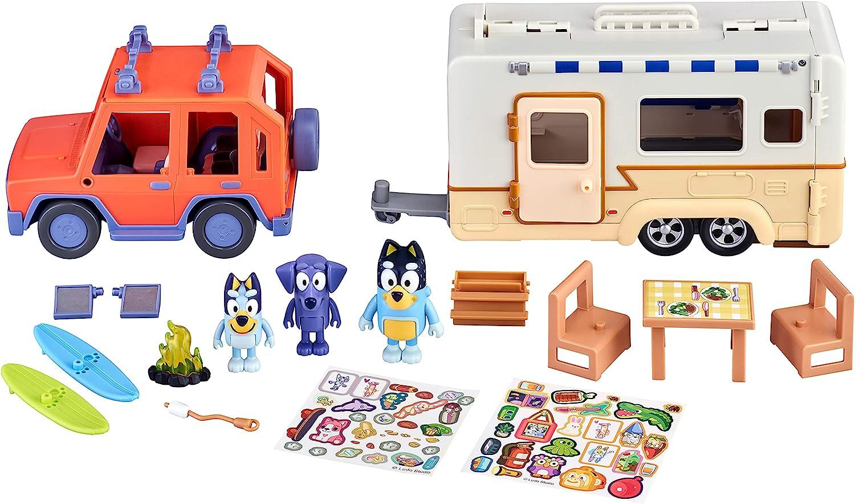 Bluey Ultimate Caravan Adventures Playset with Accessories