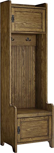 B07BYTNQ61✅Crosley Furniture CF6016-CO Fremont Tower Entryway Hall Tree with Storage, Coffee