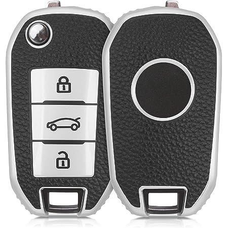 Autoschlüssel Hülle Für Peugeot Kunstleder Elektronik