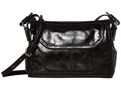 Frye Mel Crossbody (Black) Cross Body Handbags